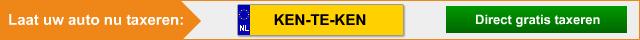 Auto online taxeren
