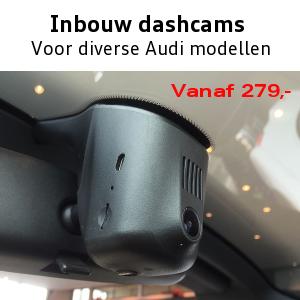 Audi inbouw dashcam